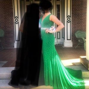 Prom pageant dress